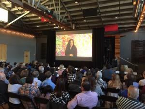 Emma on the big screen